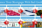 How To Refinance Your Mortgage With A Bad Credit Rating 2015